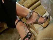 London Keyes and Kelly Madison Threesome