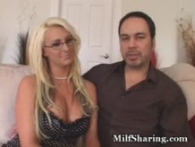 Milf Emilianna Shared With New Cock