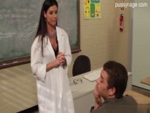 Hot teacher fucks student