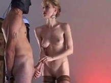 Horny Milf & Her Willing Slave Homemade porn