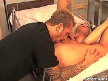 Brooke Haven shows oral sex tricks to hot bloded man with passion and desire