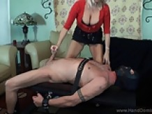Dominant MILF with Huge boobs takes revenge