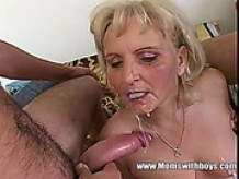 Mature Blonde Distracting Computer Geeks With A Fuck