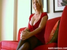 Charlee Chase sucks and fucks her way to a job interview