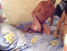 Russian sex couples in front of the camera part2