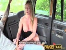 Fake Taxi blonde misses date and fucks driver