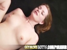 Curvy Chick Filled In The Ass With Big Pole