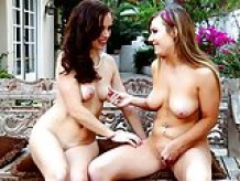 Tiff Bannister and Savannah Fyre at Mommy's Girl