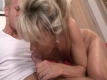 GILF fucked by young